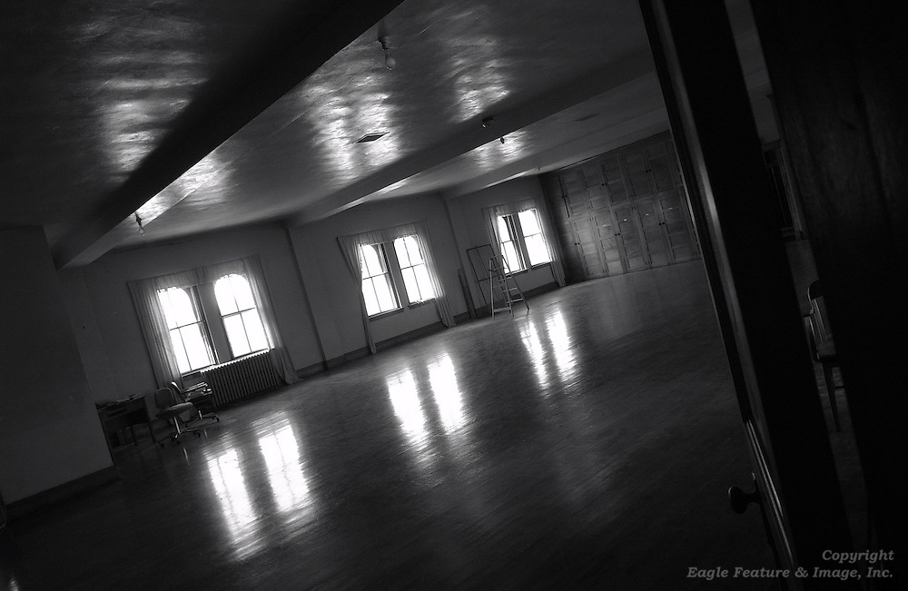 B&W photo essay images from the Holy Childhood boarding school in Harbor Springs that is scheduled to be demolished this summer.