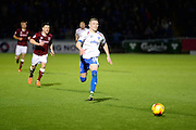 Portsmouths Caolan Lavery chases the ball during the Sky Bet League 2 match between Northampton Town and Portsmouth at Sixfields Stadium, Northampton, England on 19 December 2015. Photo by Dennis Goodwin.