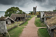 Foteviken Viking Village in Skåne, Sweden