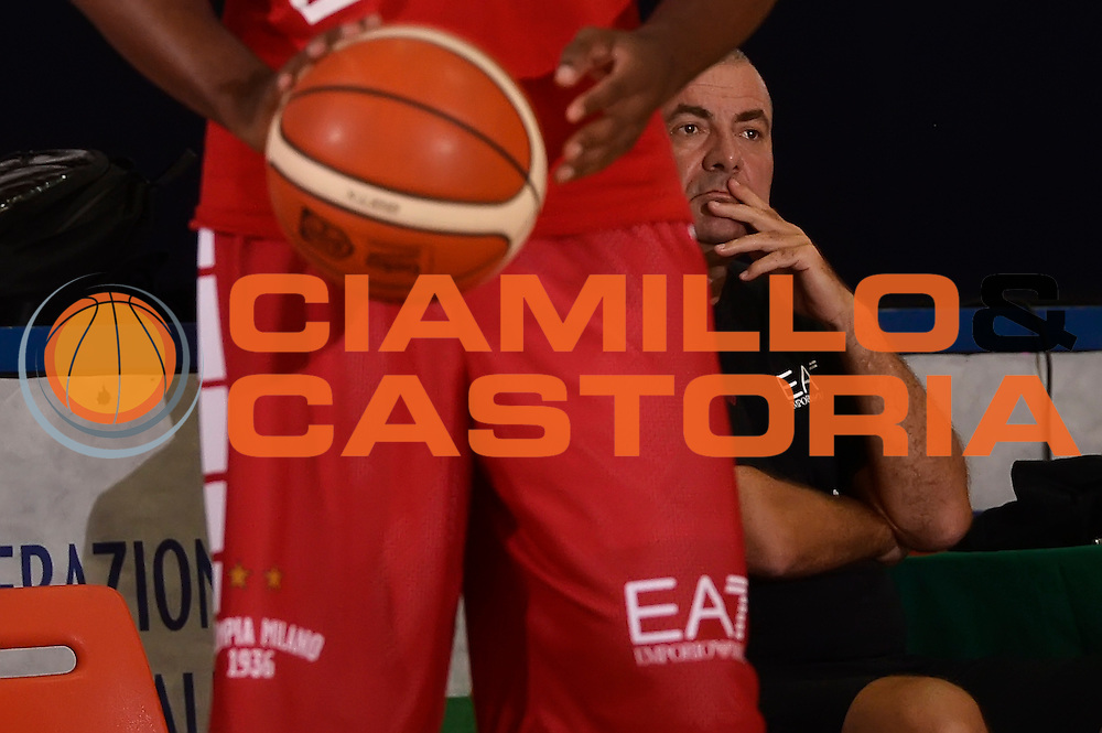 Jasmin Repesa <br /> EA7 Emporio Armani Olimpia Milano allenamento <br /> Lega Basket Serie A 2016/2017<br /> Bormio 26/08/2016<br /> Foto Ciamillo-Castoria