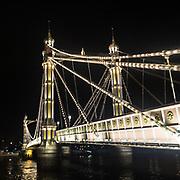 Visione notturna di Albert Bridge, il ponte che collega Battersea a Chelsea<br /> <br /> A night view of Albert Bridge, the bridge that link Battersea to Chelsea.<br /> <br /> #350d #photooftheday #picoftheday #bestoftheday #instadaily #instagood #follow #followme #nofilter #everydayuk #canon #buenavistaphoto #photojournalism #flaviogilardoni <br /> <br /> #london #uk #greaterlondon #londoncity #centrallondon #cityoflondon #londonuk #visitlondon<br /> <br /> #photo #photography #photooftheday #photos #photographer #photograph #photoofday #streetphoto #photonews #amazingphoto #dailyphoto #goodphoto #myphoto #photoftheday #photogalleries #photojournalist #photolibrary #photoreportage #pressphoto #stockphoto #todaysphoto #urbanphoto