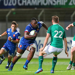 Jordan Joseph of France U20  during the U20 World Championship match between France and Ireland on May 30, 2018 in Perpignan, France. (Photo by Manuel Blondeau/Icon Sport)