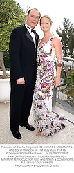 President of Cantor Fitzgerald LEE AMAITIS & MRS AMAITIS, at a ball in Monaco on 31st May 2003.PKA 96