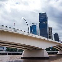 Highrise buildings in urban Brisbane