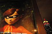 USA New York Manhattan Empire State Buliding aus der Serie Night Vision Nacht Nachtaufnahme Werbung The Incredibles