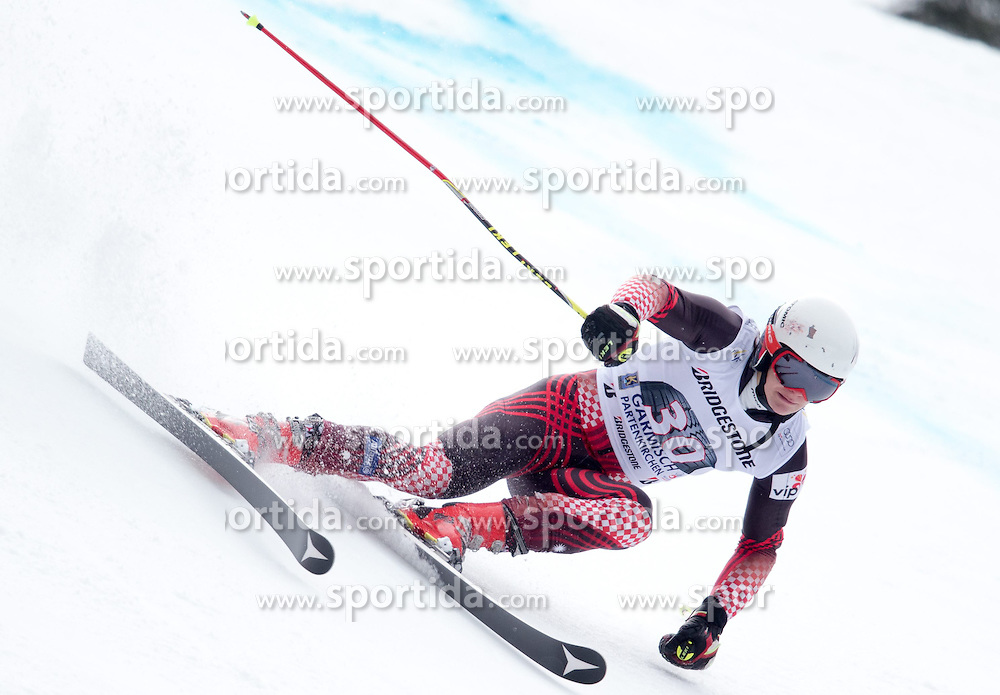 01.03.2015, Kandahar, Garmisch Partenkirchen, GER, FIS Weltcup Ski Alpin, Riesenslalom, Herren, 1. Lauf, im Bild Filip Zubcic (CRO) // Filip Zubcic of Croatia in action during 1st run for the men's Giant Slalom of the FIS Ski Alpine World Cup at the Kandahar course, Garmisch Partenkirchen, Germany on 2015/03/01. EXPA Pictures © 2015, PhotoCredit: EXPA/ Johann Groder