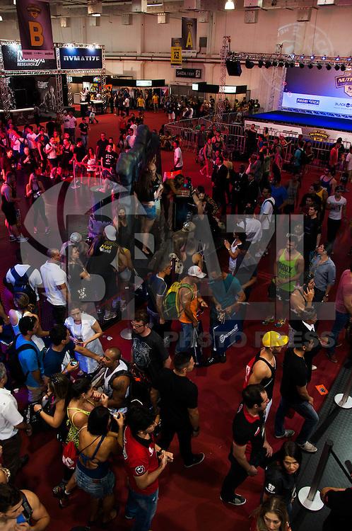 SÃO PAULO-SP-31.10.2014 - EXPO NUTRITION 2014 - Movimentacao na Feira de nutrição esportiva Expo Nutrition no Expo Center Norte região norte da cidade de São Paulo nesta sexta-feira, 31.(Foto:Kevin David/Brazil Photo Press)