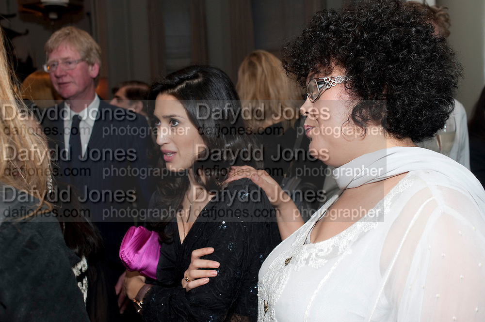 FATIMA BHUTTO; GHINWA BHUTTO, Henry Porter hosts a launch for Songs of Blood and Sword by Fatima Bhutto. The Artesian at the Langham London. Portland Place. 15 April 2010.  *** Local Caption *** -DO NOT ARCHIVE-© Copyright Photograph by Dafydd Jones. 248 Clapham Rd. London SW9 0PZ. Tel 0207 820 0771. www.dafjones.com.<br /> FATIMA BHUTTO; GHINWA BHUTTO, Henry Porter hosts a launch for Songs of Blood and Sword by Fatima Bhutto. The Artesian at the Langham London. Portland Place. 15 April 2010.