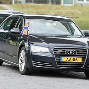 NLD/Amsterdam/20190314  - Koning bij viering 100 jaar Luchtvaart  in Nederland, Auto van Koning Willem Alexander