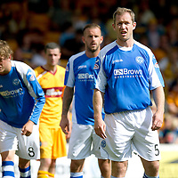 St Johnstone FC...2012-13<br /> Frazer Wright<br /> Picture by Graeme Hart.<br /> Copyright Perthshire Picture Agency<br /> Tel: 01738 623350  Mobile: 07990 594431