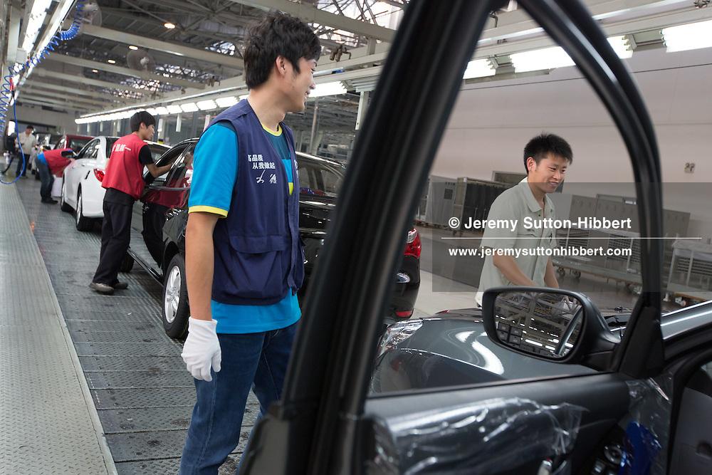 Beijing Hyundai No.1 car production plant, in Beijing, China, Friday 1st June 2012.