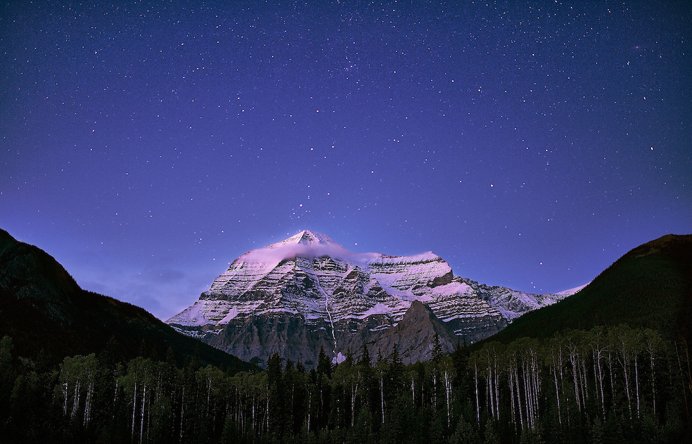 Summer at Mt. Robson Provincial Park, August 2015