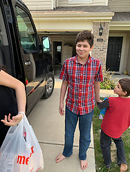 "EXCLUSIVE: A SUPERMUM with 16 children has revealed: ""Our Covid-19 quarantine has been tough."" Doris Phillips, 38, and her disabled veteran husband William, 42, have been hailed as modern-day miracle workers after raising their giant brood on a shoestring budget. But with coronavirus ravaging communities, the family have been holed up together around-the-clock and unable to leave their four bedroom home which doesn't even have a yard or garden. The only time tireless Doris has left their home in Indianapolis, Indiana is to embark on $1,000 a time trips to Costco where she stocks up on essentials for their children Jason, 19, Nicole, 18, Sophia, 6, Zander, 13, Sage, 12, Lance, 11, Kristella, 10, Giscella,9, Liezella, 6, Adeiric, 7, William, 7, Asreella, 5, Adderin, 4, Aleric, 3, Viella, 1, and Abella, seven months. ""The virus has forced my family to change our routine which has at times been completely crazy,' said Doris. ""When lockdown first happened it was chaos because the schools suddenly closed and we were trying to do home schooling. The kids are up at 7am and when they had no school to go to they were running around like wild little deers. ""The only break I have is when I am wheeling two shopping carts around the supermarket and getting food for the family – and even then people are giving me funny looks because they think I am hoarding. If only they knew how many children I have."" Before quarantine Doris and William were previously spending at least 15 hours a day caring for their litter and exact military precision to master family meals, schoolwork, endless hospital visits, bath times and family outings. But that routine ended in mid-March when states forced families to isolate. ""They are up at 7am and if you don't get into the bathroom earlier and brush your teeth you'll never get in there. Our day starts early and ends usually at midnight. ""We've been trying to keep them busy with home schooling and various projects including m"