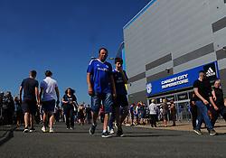 General view outside the ground - Mandatory by-line: Nizaam Jones/JMP - 21/04/2019 -  FOOTBALL - Cardiff City Stadium - Cardiff, Wales -  Cardiff City v Liverpool - Premier League