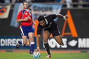 27.09.2014. Julian Savea scores a try. Test Match Argentina vs All Blacks during the Rugby Championship at Estadio Único de la Plata, La Plata, Argentina.