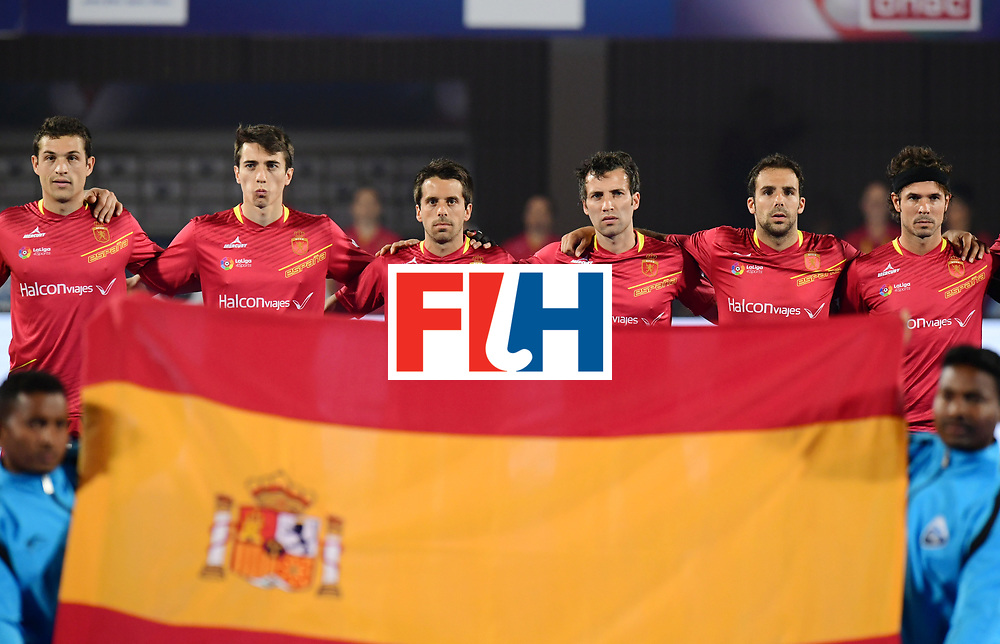 Odisha Men's Hockey World League Final Bhubaneswar 2017<br /> Match id:11<br /> Argentina v Spain<br /> Foto: Line Up<br /> COPYRIGHT WORLDSPORTPICS FRANK UIJLENBROEK