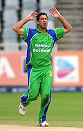 CAPE TOWN, SOUTH AFRICA - 22 February 2008, Quinton Friend appeals for the wicket of Stiaan Van Zyl during the MTN Domestic Championship match between the Nashua Cape Cobras and the Nashua Dolphins held at Sahara Park, Newlands Stadium in Cape Town, South Africa...Photo by Ron Gaunt/SPORTZPICS
