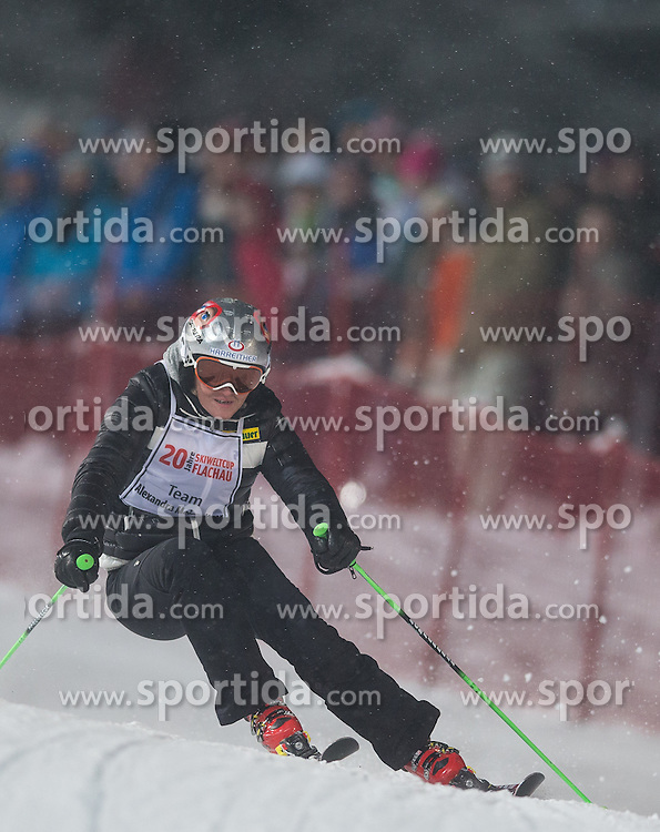 14.01.2013, Hermann Maier Weltcupstrecke, Flachau, AUT, FIS Weltcup Ski Alpin, Legendenrennen, im Bild Alexandra Meissnitzer // Alexandra Meissnitzer in action during Legend race of the FIS Ski Alpine World Cup at the Hermann Maier World Cup trackside, Flachau, Austria on 2013/01/14. EXPA Pictures © 2013, PhotoCredit: EXPA/ Johann Groder
