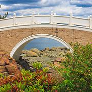 Footbridge at the Chinese Reconciliation Park - Tacoma, WA