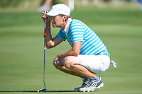 Bildnummer: 14242675  Datum: 17.08.2013  Copyright: imago/Icon SMI<br /> 17 AUGUST 2013: Catriona Matthew lines up her putt during the foursome matches on day 2 of The Solheim Cup at the Colorado Golf Club in Parker, Colorado. GOLF: AUG 17 LPGA Golf Damen - The Solheim Cup - Second Round