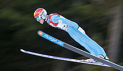 19.12.2014, Nordische Arena, Ramsau, AUT, FIS Nordische Kombination Weltcup, Skisprung, PCR, im Bild Tomaz Druml (AUT) // during Ski Jumping of FIS Nordic Combined World Cup, at the Nordic Arena in Ramsau, Austria on 2014/12/19. EXPA Pictures © 2014, EXPA/ JFK