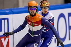 13-01-2018 DUI: ISU European Short Track Championships 2018 day 2, Dresden<br /> Sjinkie Knegt NED #2 wint de 1500 meter