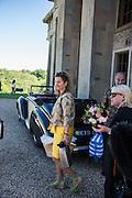 ZARA DELANEY; MARY CRESSWELL;Opening of Grange Park Opera, Fiddler on the Roof, Grange Park Opera, Bishop's Sutton, <br /> Alresford, 4 June 2015