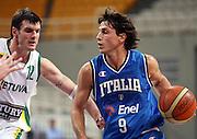 ATENE 22 AGOSTO 2007<br /> BASKET<br /> TORNEO ACROPOLIS<br /> ITALIA-LITUANIA<br /> NELLA FOTO: MORDENTE<br /> FOTO CIAMILLO-CASTORIA