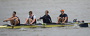Hammersmith, Greater Game, London, UK. Isis  V  Elite 4+. competing 2015 Fours Head of the River Race, River Thames [ opposite Chiswick Eyot]  Saturday  07/11/2015 <br /> <br /> [Mandatory Credit: Peter SPURRIER: Intersport Images]