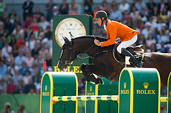 Jeroen Dubbeldam, (NED), Casall Ask - Show Jumping Final Four - Alltech FEI World Equestrian Games™ 2014 - Normandy, France.<br /> © Hippo Foto Team - Jon Stroud<br /> 07/09/2014
