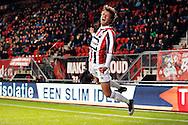 28-11-2015 VOETBAL:FC TWENTE-WILLEM II:ENSCHEDE<br /> Lucas Andersen van Willem II viert zijn doelpunt <br /> <br /> Foto: Geert van Erven