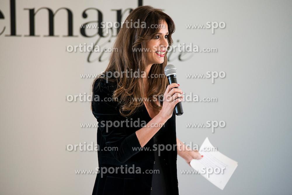 15.10.2015, Circulo de Bellas Artes, Madrid, ESP, Senmark Jubil&auml;ums Fashion Show, im Bild Mar Saura // during the Senmark 40th. Aniversary Fashion Show at the Circulo de Bellas Artes in Madrid, Spain on 2015/10/15. EXPA Pictures &copy; 2015, PhotoCredit: EXPA/ Alterphotos/ BorjaB.hojas<br /> <br /> *****ATTENTION - OUT of ESP, SUI*****