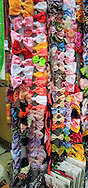A wide selection of bow ties on sale in the Old City of Jerusalem ome of the Rock and the  Church of the Holy Sepulchre<br /> Photo by Dennis Brack