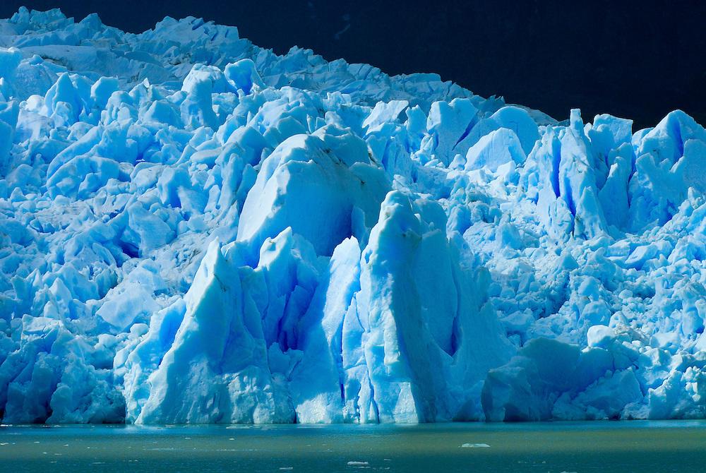 Grey Glacier, Grey Lake (Lago Grey), Torres del Paine National Park, Patagonia, Chile