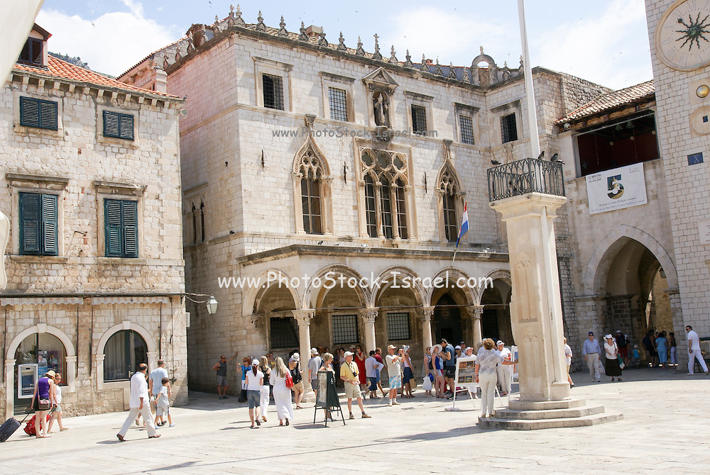 Croatia, Dubrovnik, the Walled Old City