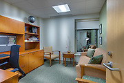 Medical office interior image of UMMC in Baltimore Maryland by Jeffrey Sauers of Commercial Photographics In Washington DC, Virginia to Florida and PA to New England
