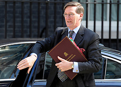 © Licensed to London News Pictures. 26/06/2012. Westminster, UK   Attorney General for England and Wales Dominic Grieve on Downing Street today 26th June 2012. Photo credit : Stephen Simpson/LNP