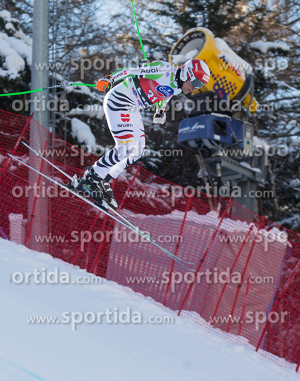 28.12.2013, Stelvio, Bormio, ITA, FIS Ski Weltcup, Bormio, Abfahrt, Herren, 2. Traininglauf, im Bild Josef Ferstl (GER) // Josef Ferstl of Germany in action during mens 2nd downhill practice of the Bormio FIS Ski Alpine World Cup at the Stelvio Course in Bormio, Italy on 2012/12/28. EXPA Pictures © 2013, PhotoCredit: EXPA/ Johann Groder