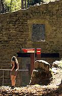 27/12/04 - THIERS - PUY DE DOME - FRANCE - Vallee des Rouets - Photo Jerome CHABANNE
