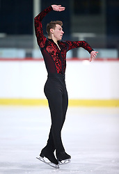 04.12.2015, Dom Sportova, Zagreb, CRO, ISU, Golden Spin of Zagreb, freies Programm, Herren, im Bild Matthias Versluis, Finland. // during the 48th Golden Spin of Zagreb 2015 men Free Program of ISU at the Dom Sportova in Zagreb, Croatia on 2015/12/04. EXPA Pictures © 2015, PhotoCredit: EXPA/ Pixsell/ Igor Kralj<br /> <br /> *****ATTENTION - for AUT, SLO, SUI, SWE, ITA, FRA only*****