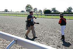 Keeneland with David Stephenson, Thursday, Oct. 09, 2008 at Keeneland Racecourse in Lexington.