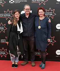 Edinburgh International Film Festival, Thursday 22nd June 2017<br /> <br /> Juror's photocall<br /> <br /> Charity Wakefield, Matthew Turner, and Marina Richter<br /> <br /> (c) Alex Todd | Edinburgh Elite media