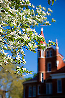 OXFORD, MS - APRIL 12:   Ventress Hall on the campus of the University of Mississippi on April 12, 2008 in Oxford, Mississippi.  (Photo by Wesley Hitt/Getty Images) *** Local Caption ***