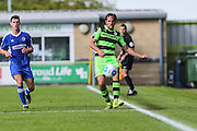 Forest Green Rovers Darren Carter (12) during the Vanarama National League match between Forest Green Rovers and Gateshead at the New Lawn, Forest Green, United Kingdom on 13 August 2016. Photo by Shane Healey.