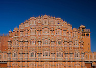 The Hawa Mahal, Palace of the Winds, in Jaipur, Rajasthan, India
