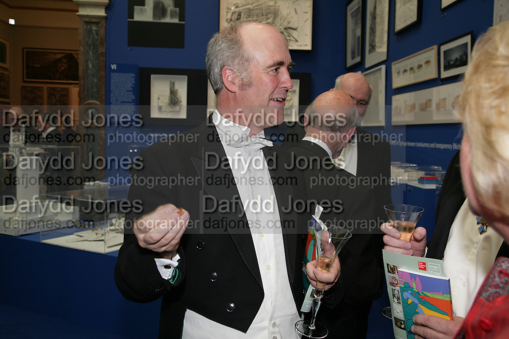 CHARLES SAUMERAZ SMITH, Royal Academy Annual Dinner. Piccadilly. London. 5 June 2007.  -DO NOT ARCHIVE-© Copyright Photograph by Dafydd Jones. 248 Clapham Rd. London SW9 0PZ. Tel 0207 820 0771. www.dafjones.com.