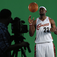 10.2.06.Cleveland Cavaliers Media  Day _ LeBron James