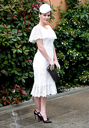 Lady Kitty Spencer attending day one of Royal Ascot at Ascot Racecourse.