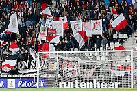 ALKMAAR - 23-09-2015, KNVB beker, AZ - VVV Venlo, 2e ronde, AFAS Stadion, 6-1, sfeer, vlaggen.