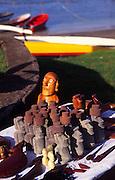 Tikis, Moai, Easter Island, Chile<br />